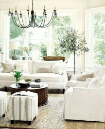 Popular French Country Living Room Decor Ideas 23