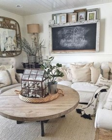 Popular French Country Living Room Decor Ideas 32