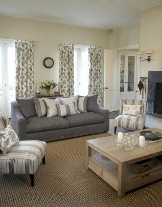 Popular French Country Living Room Decor Ideas 36