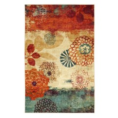 Romantic Floral Printed Rug Ideas To Beautify Your Floor12