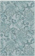 Romantic Floral Printed Rug Ideas To Beautify Your Floor13
