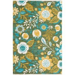 Romantic Floral Printed Rug Ideas To Beautify Your Floor33