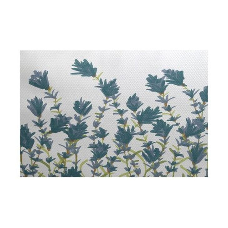 Romantic Floral Printed Rug Ideas To Beautify Your Floor37