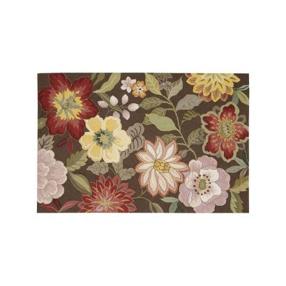 Romantic Floral Printed Rug Ideas To Beautify Your Floor41