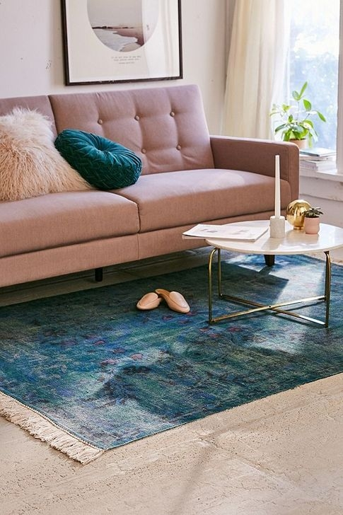 Romantic Floral Printed Rug Ideas To Beautify Your Floor43