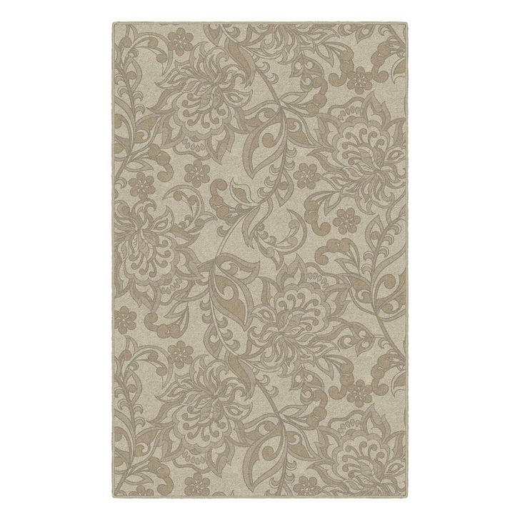 Romantic Floral Printed Rug Ideas To Beautify Your Floor44