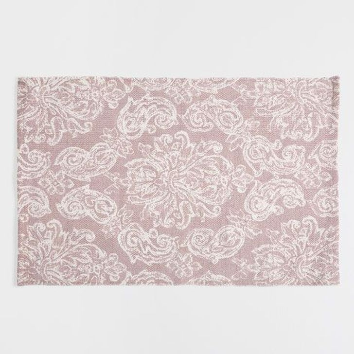 Romantic Floral Printed Rug Ideas To Beautify Your Floor45