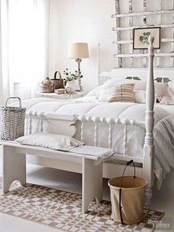 Stunning Bedroom Design And Decor Ideas With Farmhouse Style21