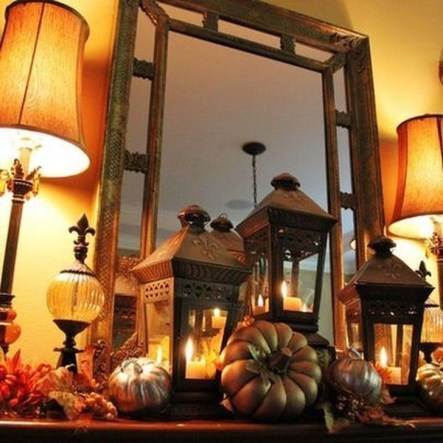 Stylish Console Table For Halloween Ideas 05