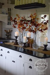 Stylish Console Table For Halloween Ideas 10