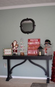Stylish Console Table For Halloween Ideas 26