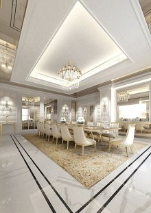 Awesome Dining Room Design And Decor Ideas41