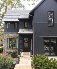 Brilliant Modern Farmhouse Exterior Design Ideas14