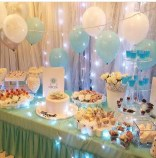 Charming Winter Themed Baby Shower Decoration Ideas40