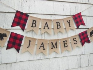 Charming Winter Themed Baby Shower Decoration Ideas41