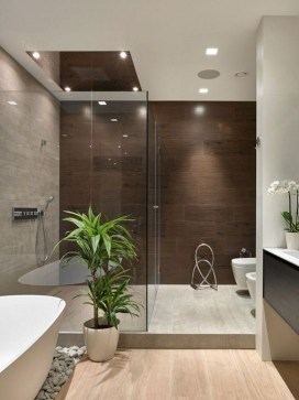 Cozy Bathroom Design And Decor Ideas34