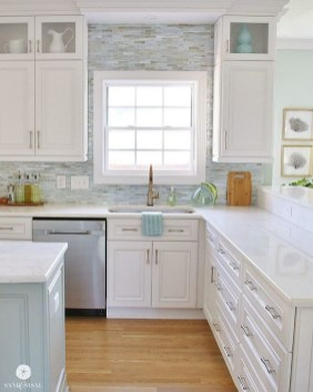 Cozy White Kitchen Design And Decor Ideas17