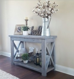 Creative Farmhouse Entryway Decorating Ideas13
