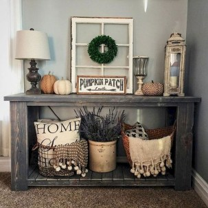 Creative Farmhouse Entryway Decorating Ideas43