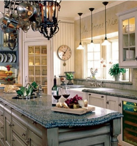 Magnificient French Country Kitchen Design And Decor Ideas12