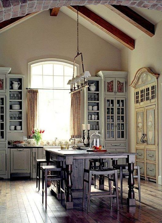 Magnificient French Country Kitchen Design And Decor Ideas18