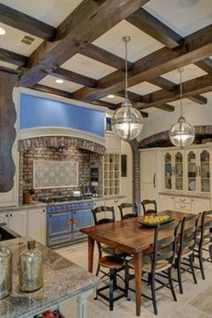 Magnificient French Country Kitchen Design And Decor Ideas23