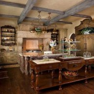 Magnificient French Country Kitchen Design And Decor Ideas37