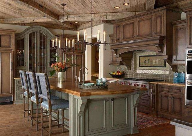 Magnificient French Country Kitchen Design And Decor Ideas45