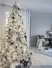 Popular White Christmas Design And Decor Ideas41