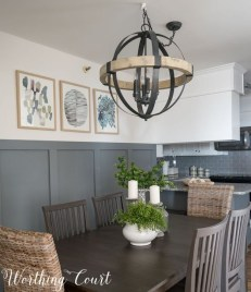Romantic Rustic Farmhouse Dining Room Makeover Ideas02