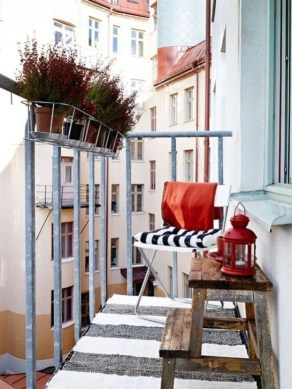 Unique Apartment Balcony Design And Decor Ideas36