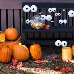 Unique Crafty Diy Outdoor Halloween Decorating Ideas01