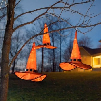 Unique Crafty Diy Outdoor Halloween Decorating Ideas17