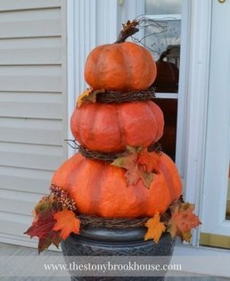 Unique Crafty Diy Outdoor Halloween Decorating Ideas25