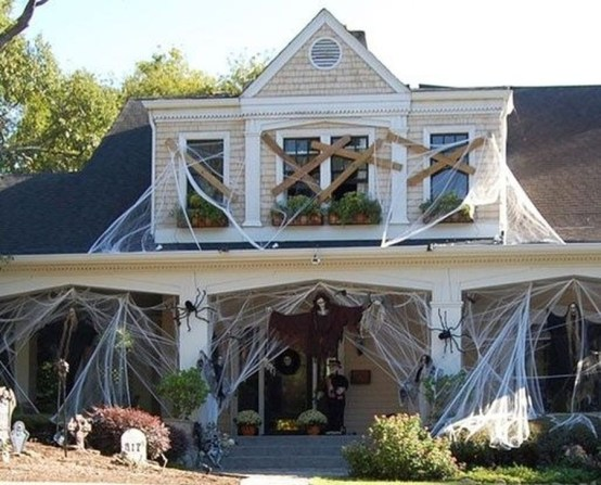 Unique Crafty Diy Outdoor Halloween Decorating Ideas37