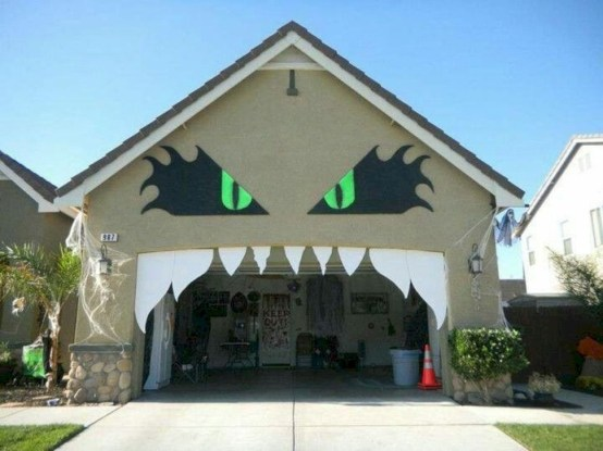 Unique Crafty Diy Outdoor Halloween Decorating Ideas38