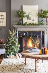 Comfy Christmas Living Room Decoration Ideas04