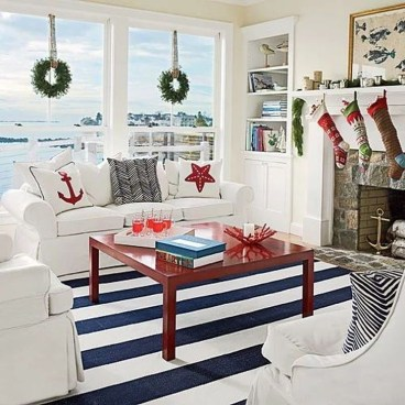 Comfy Christmas Living Room Decoration Ideas09