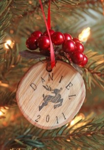 Extremely Fun Homemade Christmas Ornaments Ideas Budget15