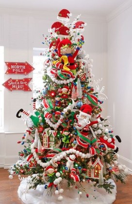Fascinating Christmas Tree Decoration Ideas33