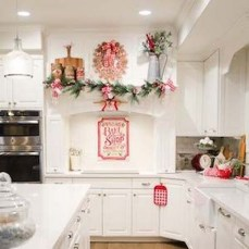 Lovely Fun Christmas Decoration Kitchen Ideas29