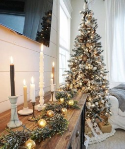 Modern Farmhouse Christmas Tree Ideas03