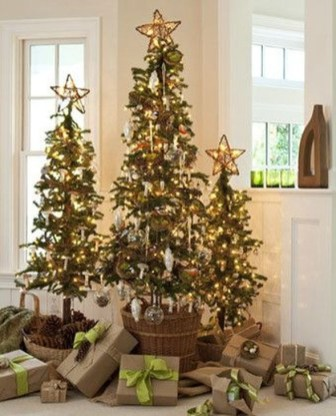 Modern Farmhouse Christmas Tree Ideas09