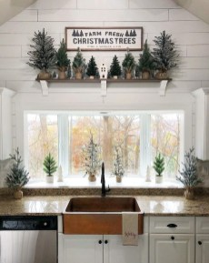 Modern Farmhouse Christmas Tree Ideas10