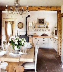 Popular French Country Kitchen Decoration Ideas For Home09