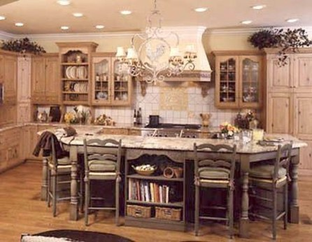Popular French Country Kitchen Decoration Ideas For Home20