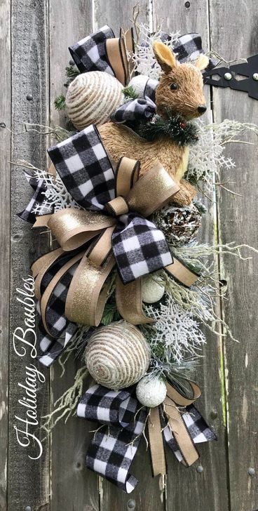 Romantic Rustic Christmas Decoration Ideas01