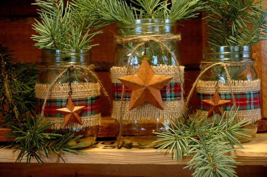 Romantic Rustic Christmas Decoration Ideas15