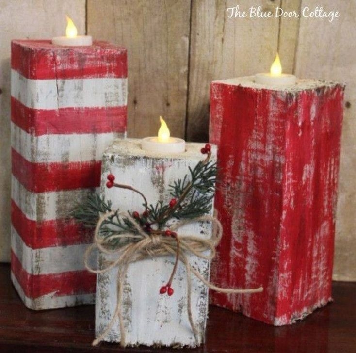 Romantic Rustic Christmas Decoration Ideas30