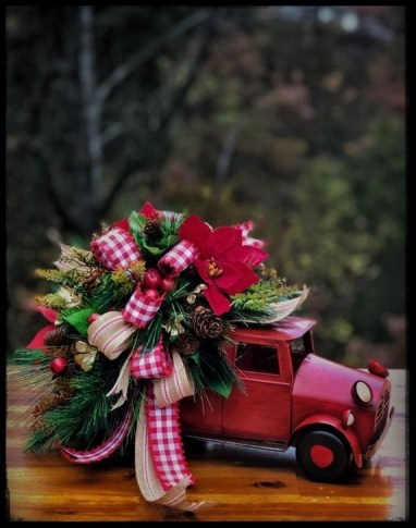 Romantic Rustic Christmas Decoration Ideas38